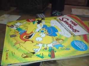 Simpsons Sticker Album