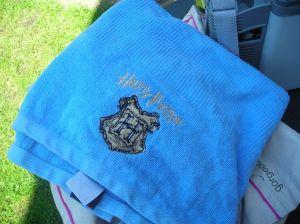 Harry Potter towel!