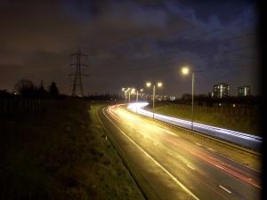 M60 at Night