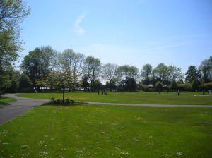 Heaton Park in the Sun